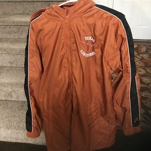 Rain jacket/ sports  Texas Longhorns men's small